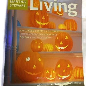 MARTHA STEWART LIVING VINTAGE~OCTOBER 2001~#95